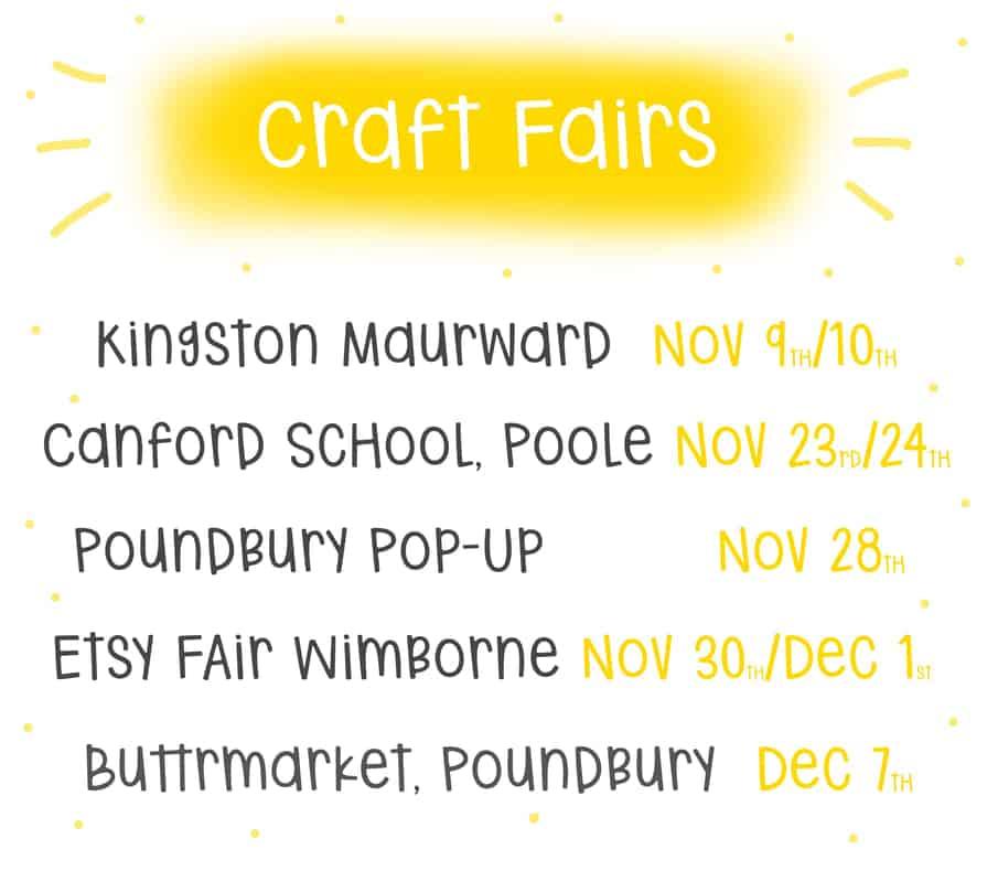 Craft Fairs 2019