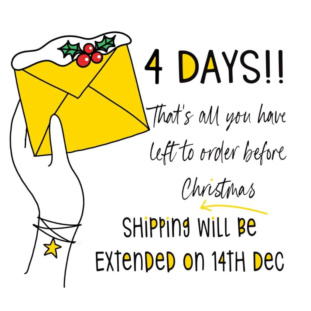 Only 4 days of Christmas shopping left!